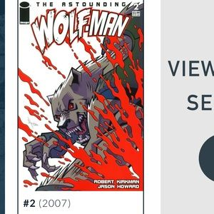 WOLFMAN COMIC BOOK #2 2007